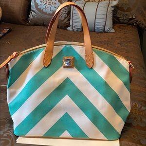 Dooney chevron bag